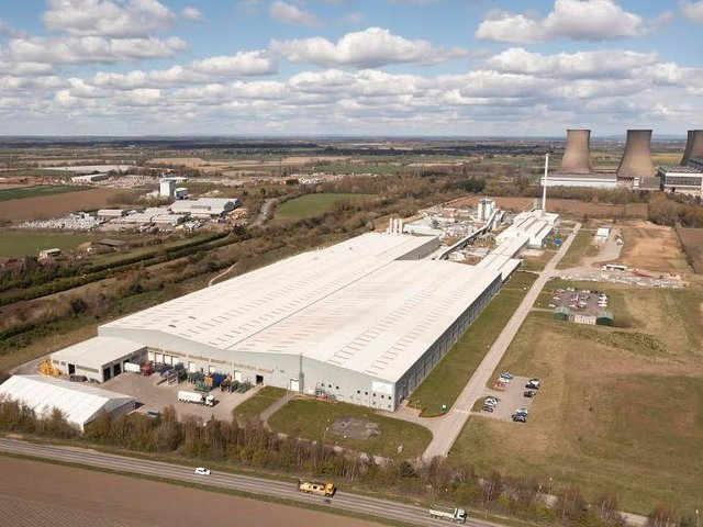 The project represents the largest industrial investment in the UK by the Saint-Gobain Group since the Eggborough plant was built in 2000