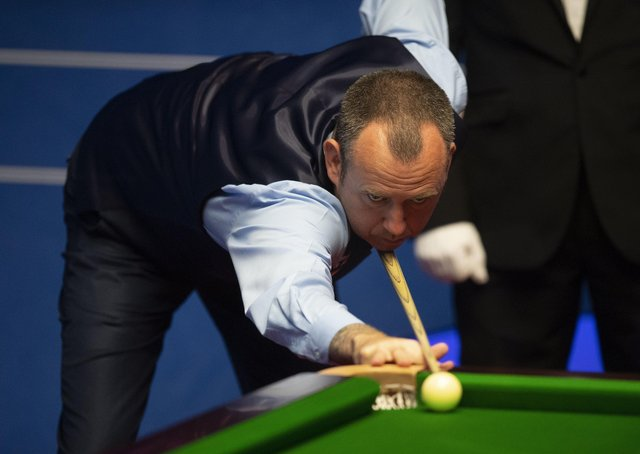 Mark Williams has reached the quarter-finals of the World Championship in Sheffield. Picture: Dave Howarth/PA Wire