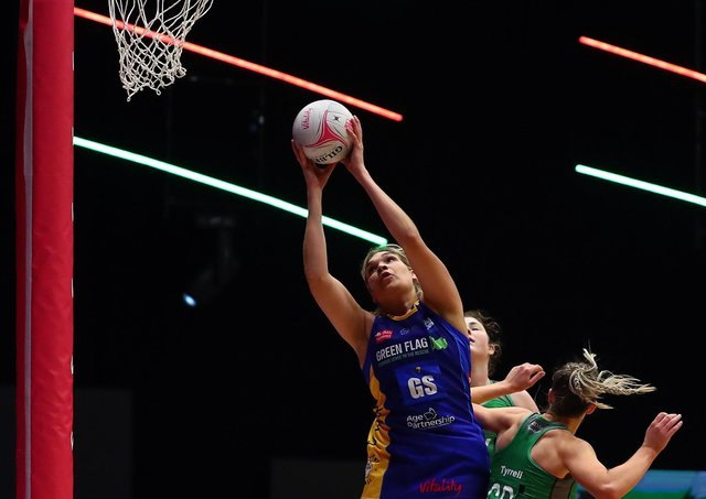 Donnell Wallam impressed in Leeds Rhinos' victory over Saracens Mavericks.  (Photo by Jan Kruger/Getty Images for Vitality Netball Superleague)