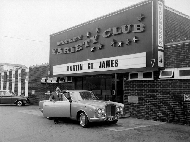 James Corrigan outside Batley Variety Club, which he made famous. (YPN).