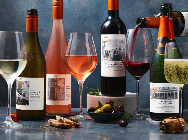 The new M&S wine range – discovering rare and ancient grapes.