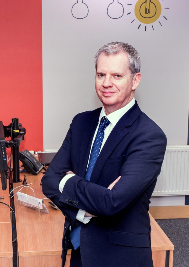 Old New Romantic: Mark Fordyce, managing director of York Data Services.