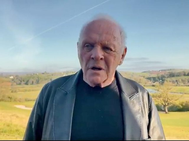 Sir Anthony Hopkins says he was surprised and delighted to win the Best Actor Oscar for his performance in The Father.