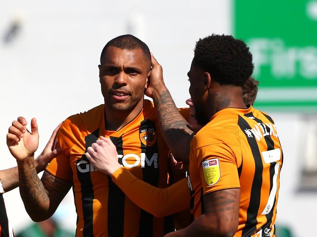FINE WINE: Josh Magennis is enjoying the most prolific season of his career. Picture: Getty Images.