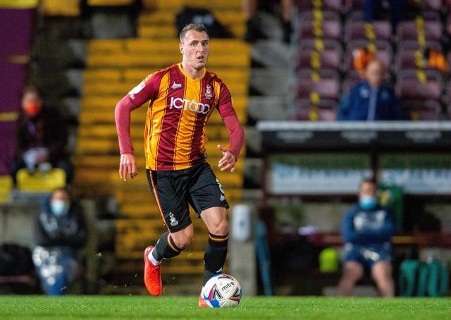 Bradford City's Callum Cooke  Picture: Bruce Rollinson