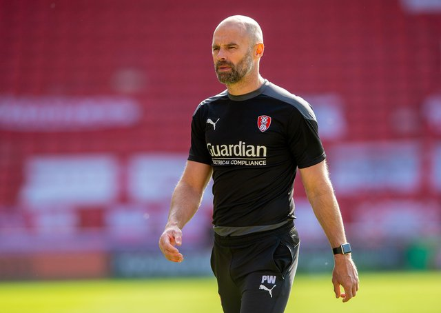 Paul Warne: Players remain confident, he says.  Picture: Bruce Rollinson