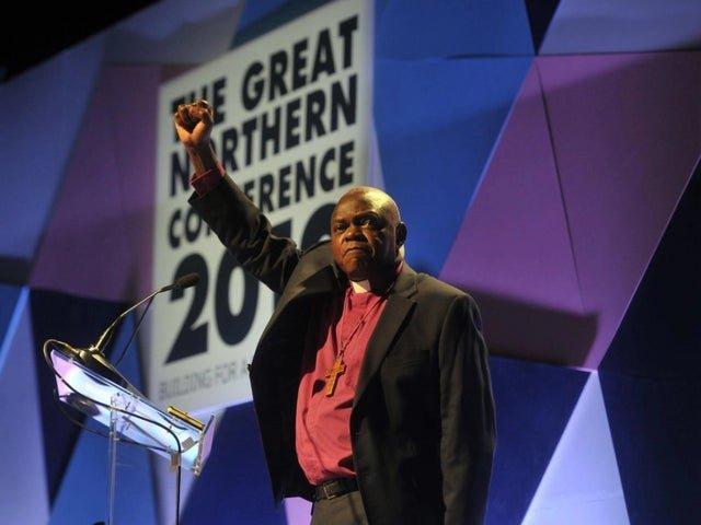 Former Archbishop of York John Sentamu.
