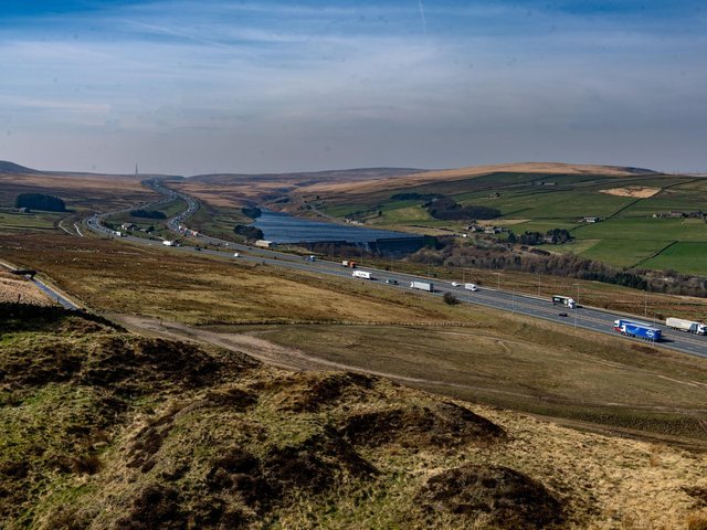 The site will provide easy access to the M62.