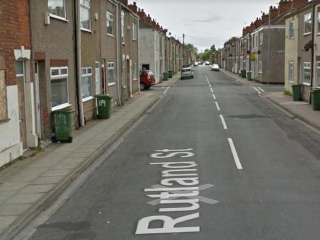Rutland Street in Grimsby.