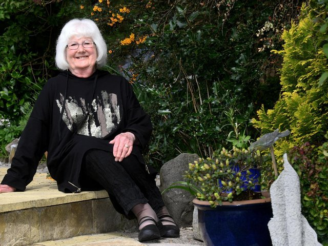 Lynne Goldthorpe, 68, who is celebrating the 20th anniversary of her life-changing kidney transplant. Picture: Gary Longbottom