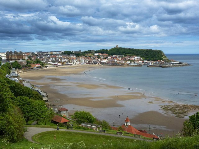 Scarborough's two main beaches are covered by the ban