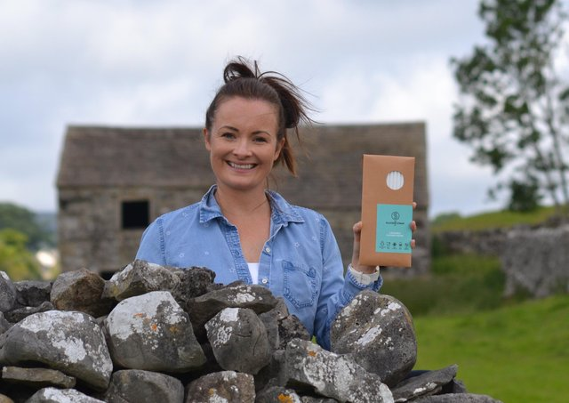 Charlotte Walsh from Grassington who is producing silicone reusable straws Picture:: Charlotte Walsh