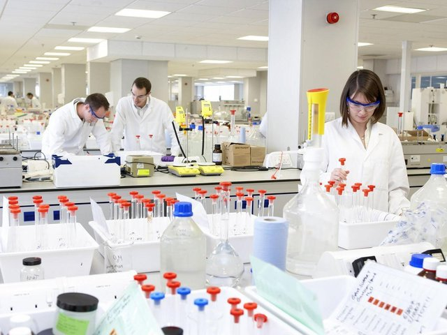 Reckitt has a lab in Hull.