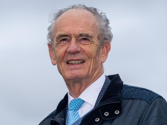 Ken Davy is stepping down today from the role of chairman today.