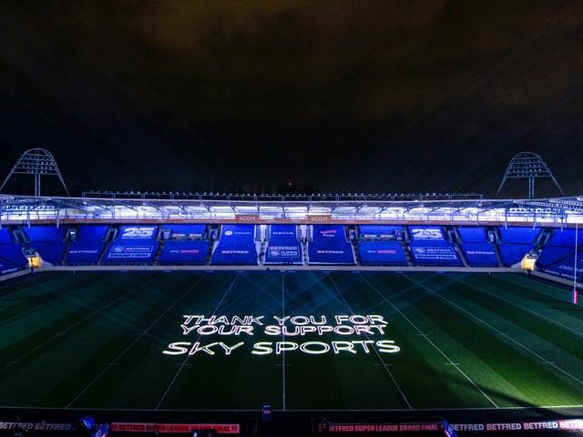 The Betfred Super League Grand Final at Hull's KCOM Stadium last autumn. (ALLAN MCKENZIE/SWPIX)