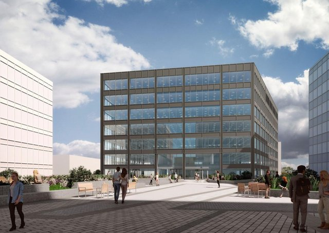 The Leeds out-of-town commercial property market saw a stellar performance in the first quarter of 2021, surpassing all expectations.Activity was buoyed by the pre-letting of 133,111 sq ft to Lowell at Thorpe Park, pictured.