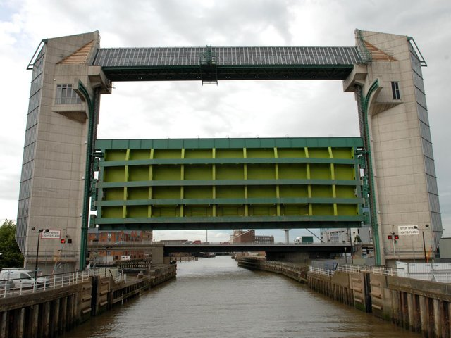Hull's tidal barrier Picture: Terry Carrott