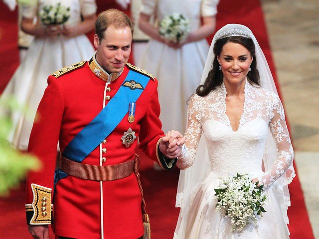The Duke and Duchess of Cambridge are celebrating a decade of married life today.