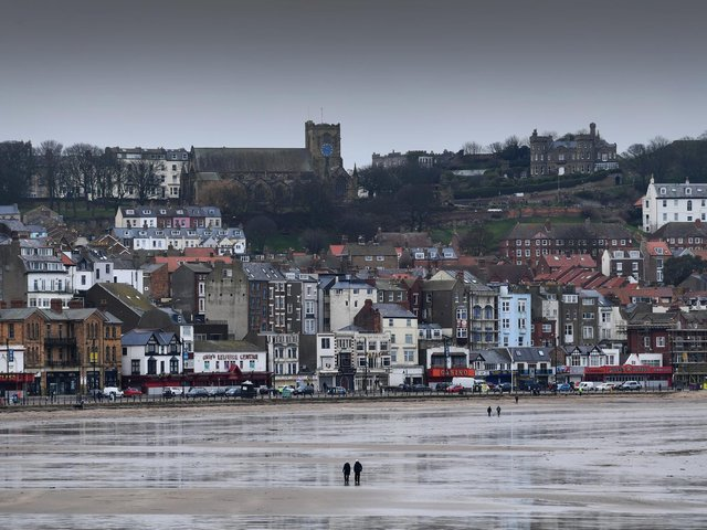 Scarborough was once again the hotspot for fines.