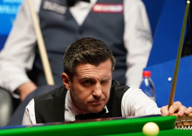 Leicester's Mark Selby. Photo: Zac Goodwin/PA