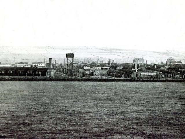 Lodge Moor prisoner of war camp site in 1949