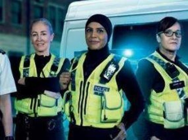 Female police officers from North Yorkshire Police