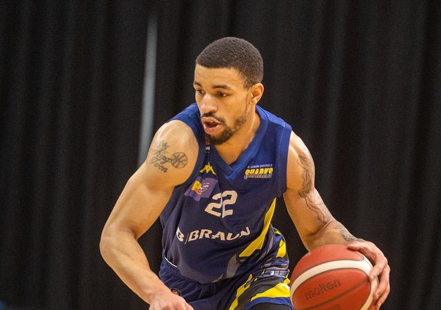 Antwon Lillard: Has settled well in South Yorkshire in his first season with Sheffield Sharks. (Picture: Bruce Rollinson)