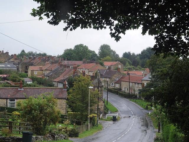 Ampleforth village