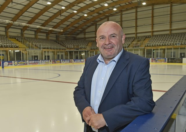 NEW HOME: Steve Nell, the new owner Leeds' NIHL National ice hockey team. Picture: Steve Riding.
