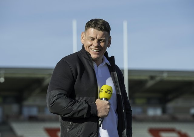 Back in the game: Lee Radford, who takes charge of Castleford next season. Picture: Allan McKenzie/SWpix