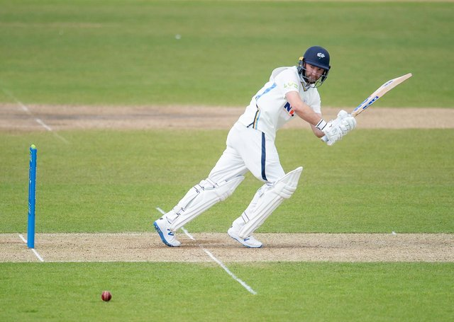 PICK HIM: Yorkshire's Adam Lyth has started the 2021 season in fine style and deserves a second chance with England at Test level. Picture by Allan McKenzie/SWpix.com