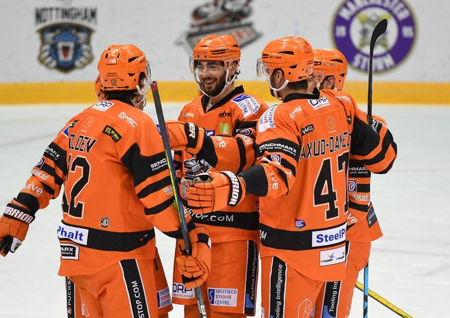 Sheffield Steelers hope to have Liam Kirk back in their line-up to face Nottingham Panthers in Saturday's Game 1 of the Elite Series Final. Picture courtesy of Dean Woolley.
