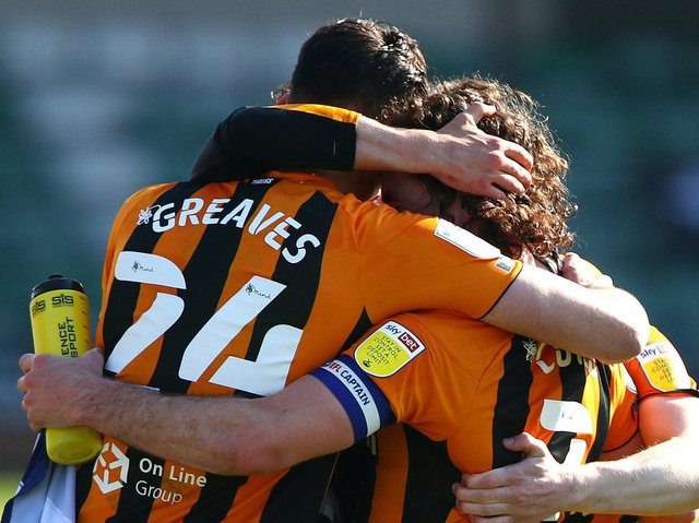 Hull City were crowned League One champions following Saturday's 3-1 win over Wigan Athletic. Picture: Getty Images