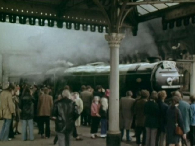 The Flying Scotsman at York Station
