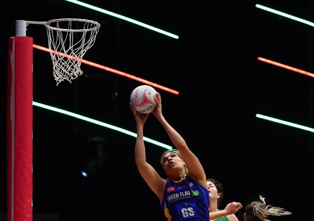 On target: Leeds Rhinos' Donnell Wallam. (Photo by Jan Kruger/Getty Images for Vitality Netball Superleague)