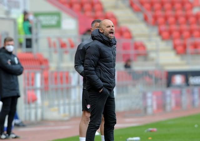Still battling: Rotherham manager Paul Warne. Picture: Simon Hulme