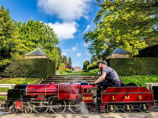 Newby Hall is recruiting a train driver. (Credit: Charlotte Graham)