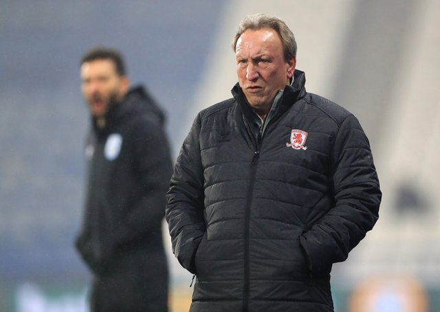 Plenty to say: Middlesbrough manager Neil Warnock after the 1-1 draw at Luton Town. Picture: Mike Egerton/PA Wire.