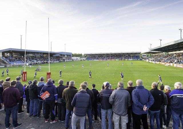 Featherstone Rovers has been praised for investing in its ground and facilities.