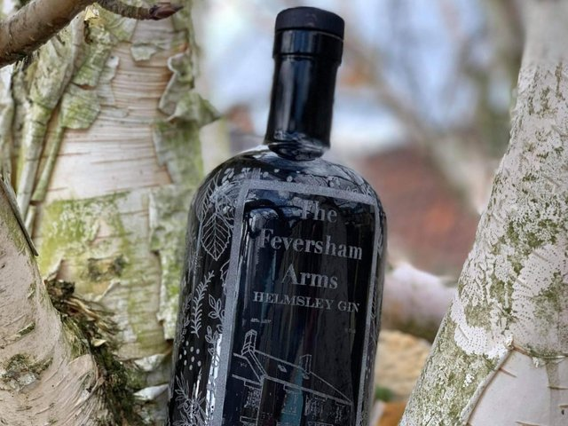 The hotel is launching its own gin.