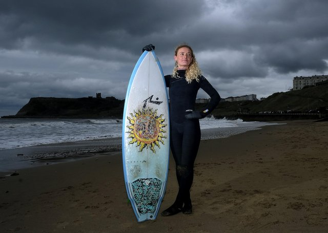 Scarborborough surfer Ruby Wyborn is launching more surfing lessons for women to break down barriers and encourage sporting endeavours..