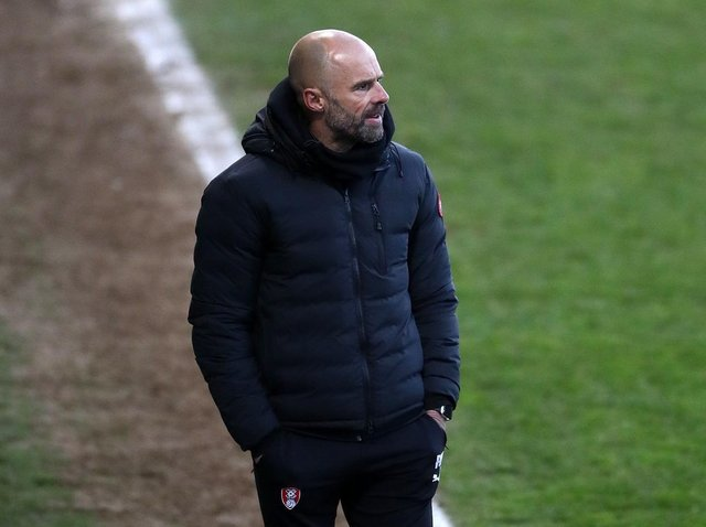 MIXED FEELINGS: Paul Warne was pleased with Rotherham United's efforts, frustrated they could not make them count for three points