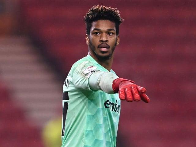 BIG SAVE: Rotherham United's Jamal Blackman
