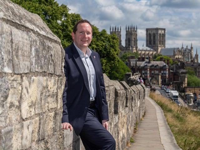 York council leader Keith Aspden