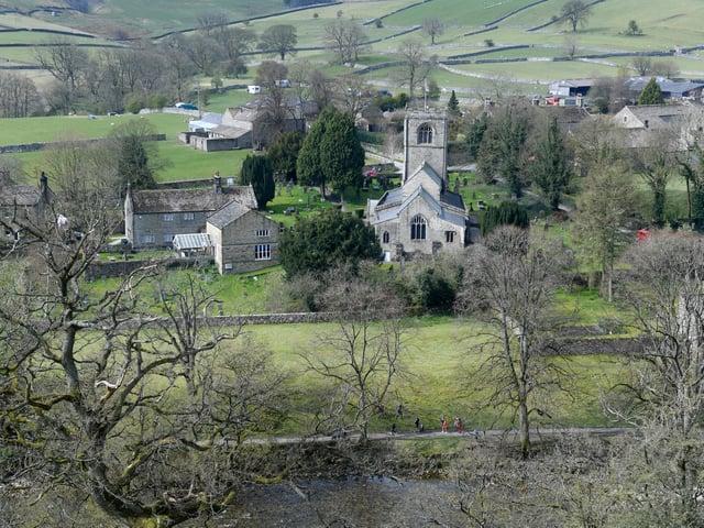 Burnsall village