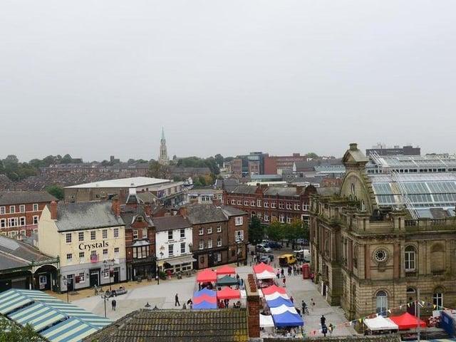 Doncaster town centre. Photo: Scott Merrylees