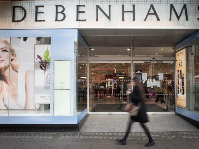 Debenhams is closing its stores for good.