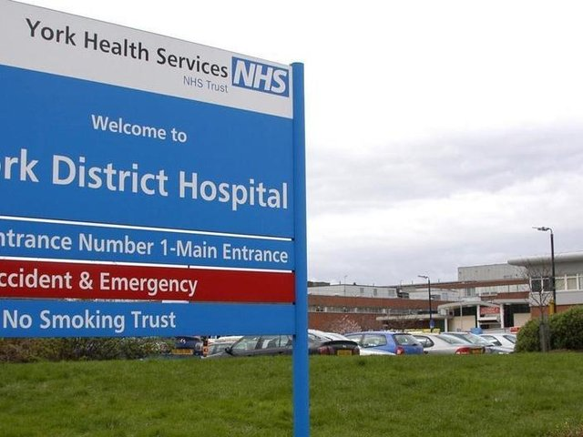 York and Scarborough Hospitals saw figures of over a hundred patients being treated for the disease at the second peak in January. On January 13, 121 patients were being treated at York Hospital alone.