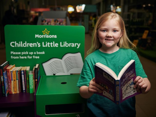 Morrisons is launching the new literacy scheme in its stores.