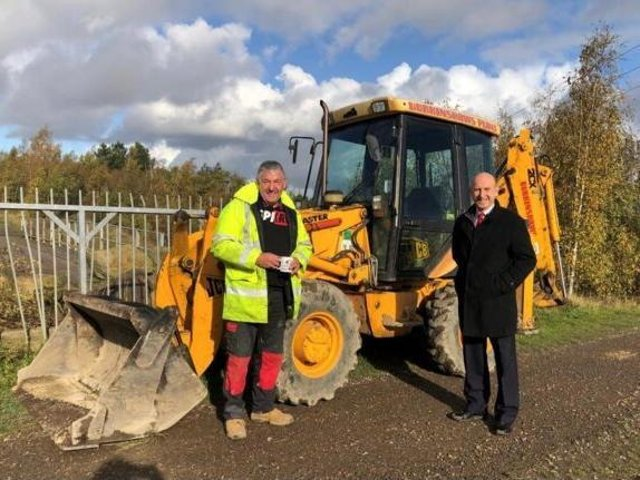 MP John Healey says drivers of off-road vehicles are causing damage at Silverwood Nature Reserve